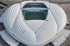 Bentuk stadion untuk Piala Dunia 2022 ini dikritik
