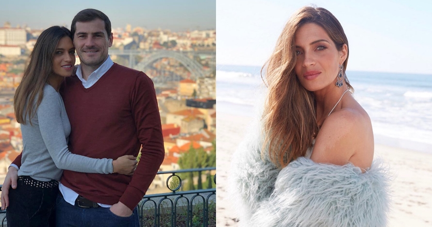 10 Pesona Sara Carbonero, wanita yang setia dampingi Iker Casillas