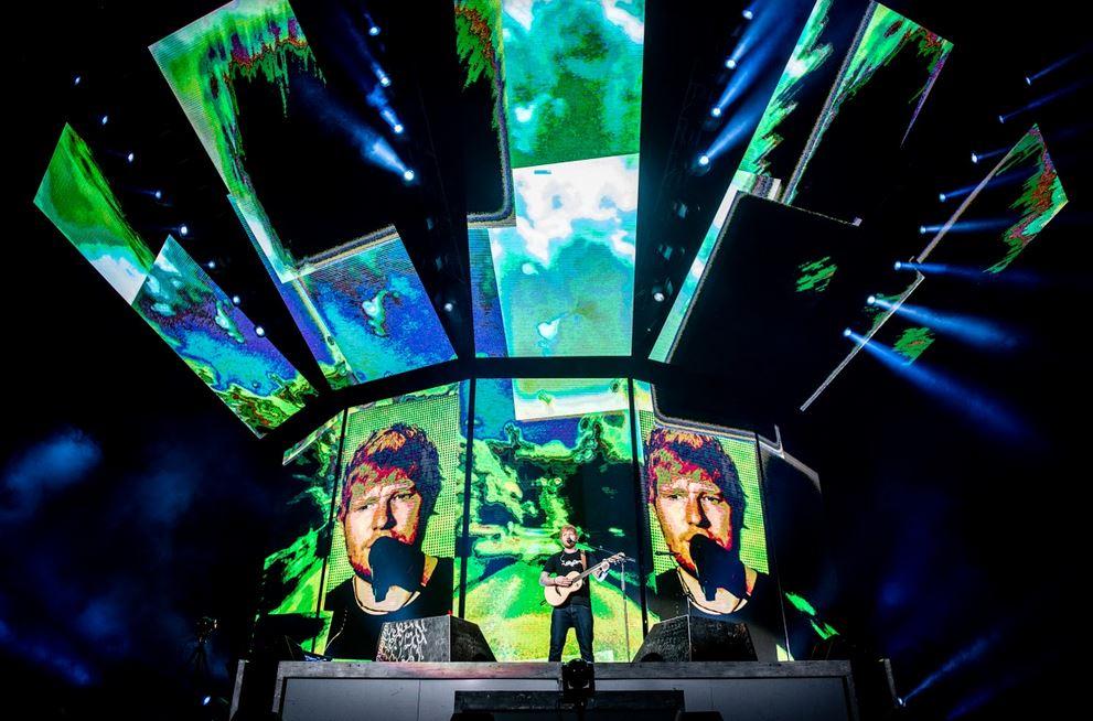 Aksi memukau Ed Sheeran hibur penggemarnya di Jakarta istimewa