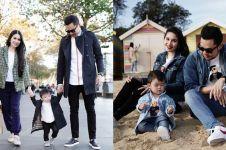 7 Potret babymoon Sandra Dewi di Melbourne, sudah hamil 6 bulan