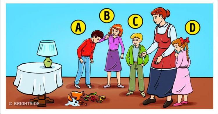 Tebak pemecah vas di gambar ini, jawabanmu ungkap kepribadianmu