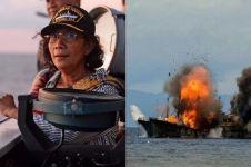 Menteri Susi tenggelamkan 13 kapal Vietnam di perairan Kalbar