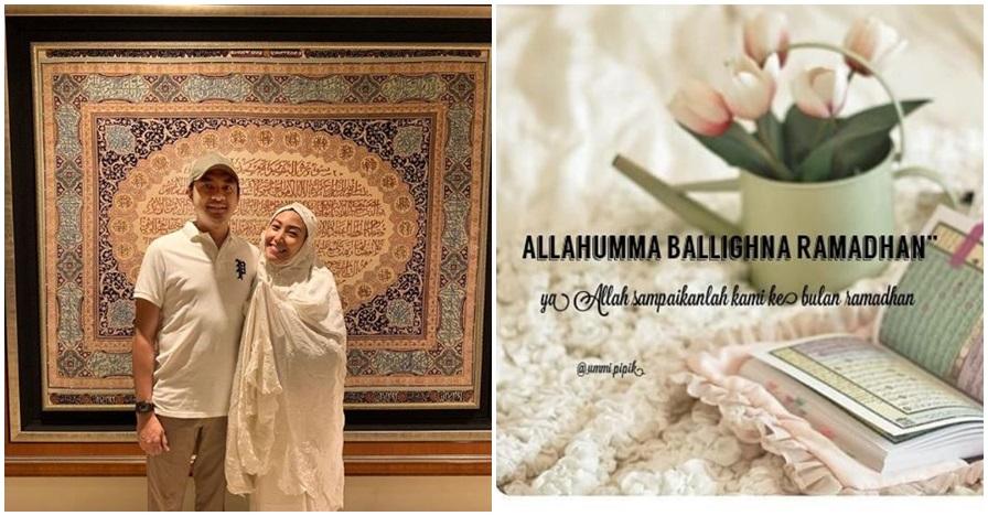 Ucapan 7 seleb menyambut Ramadan, bikin ikut semangat puasa