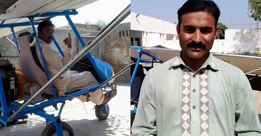 Penjual berondong jagung bikin pesawat sendiri, tujuannya bikin kaget