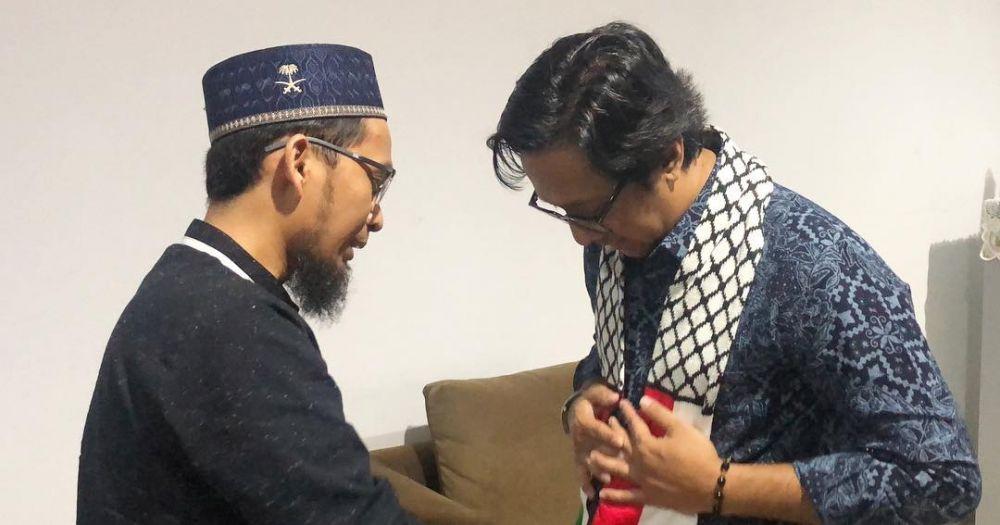 Andre Taulany dan Adi Hidayat © 2019 brilio.net