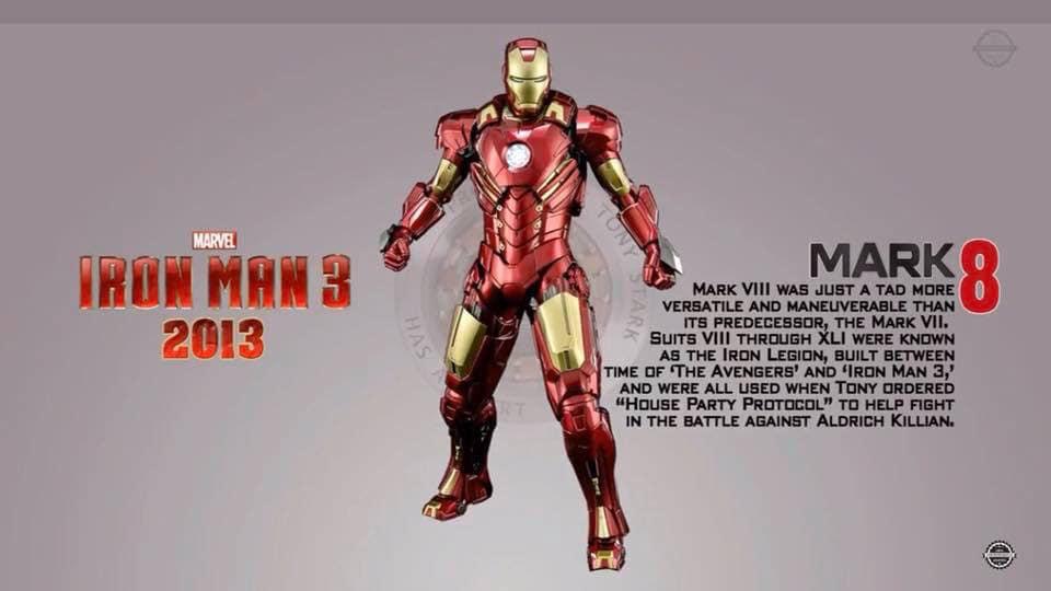 50 kostum iron man paling komplet © Facebook/phototoyko