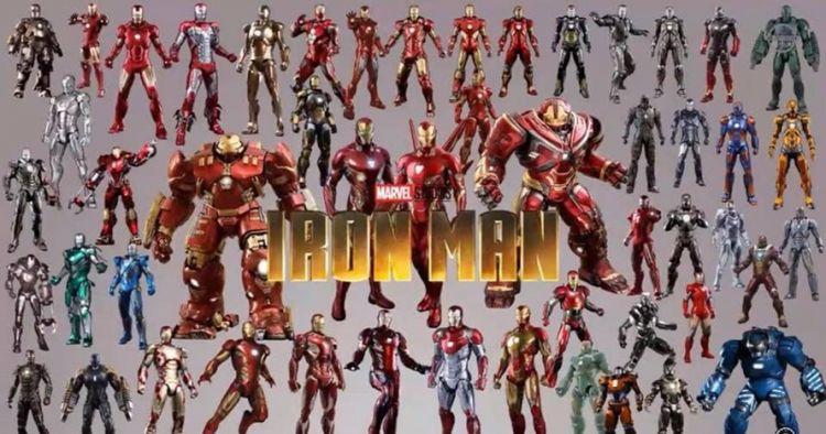 50 Kostum Iron Man paling komplet sejak film pertama-Infinity War