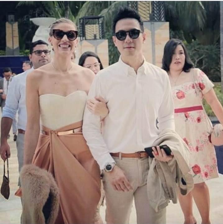 Daniel Mananta dan istri instagram