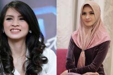 6 Pesona Donita dengan balutan hijab, didoakan istikamah