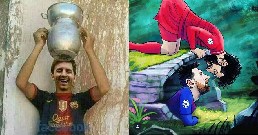 12 Meme lucu Barca gagal ke final Liga Champions sindir Messi