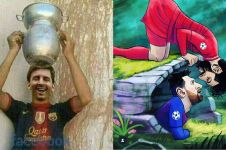 12 Meme lucu Barca gagal ke final Liga Champions, sindir Messi