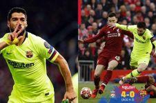 Soal gol sepak pojok 'tipuan', Suarez: Barca terlihat seperti tim muda