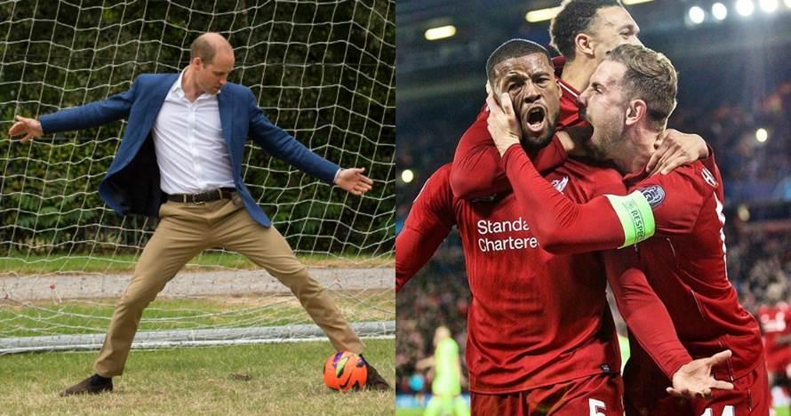 Liverpool singkirkan Barcelona, begini reaksi Pangeran William