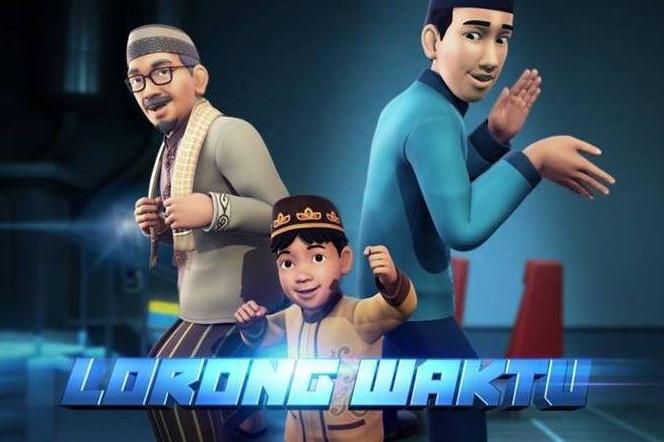 11 Fakta animasi Lorong Waktu yang diadaptasi dari sinetron Ramadan