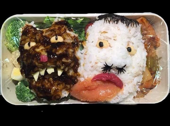 bekal makanan wajah mengerikan © 2019 brilio.net