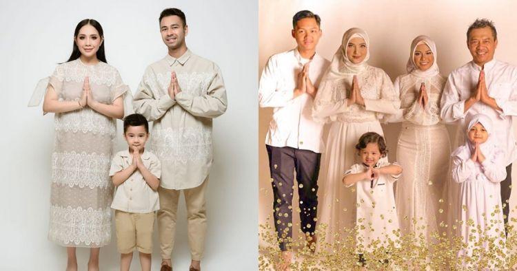 Gaya pemotretan 5 seleb bertema Ramadan, penampilannya bikin adem