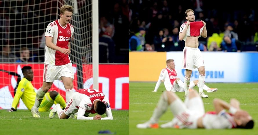 5 Alasan gugurnya Ajax di semifinal meruntuhkan hati mereka