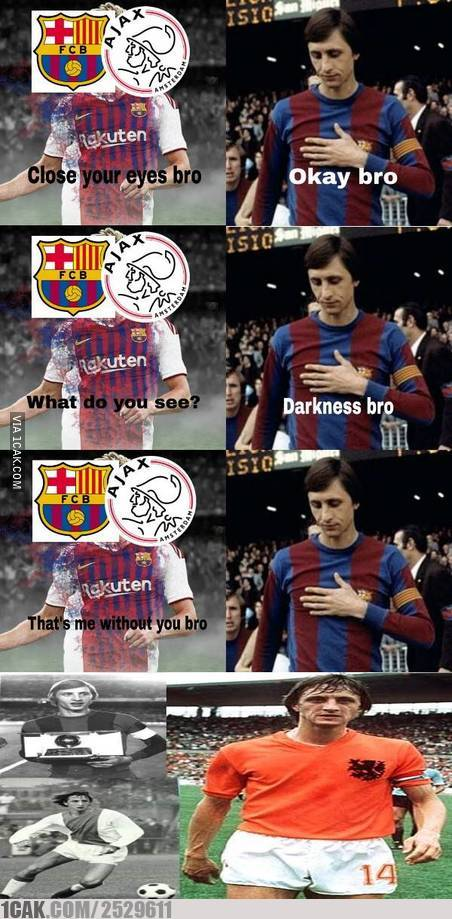 Meme kegagalan Ajax © 2019 brilio.net