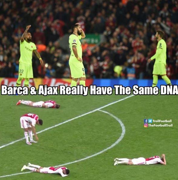 12 Meme lucu kemenangan dramatis Spurs atas Ajax, kocak © 2019 brilio.net
