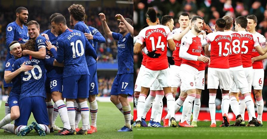 Ini rekor Inggris jika Chelsea & Arsenal lolos final Liga Eropa