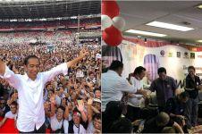 Klaim sudah 80 juta suara, TKN Jokowi-Ma'ruf merayakan kemenangan