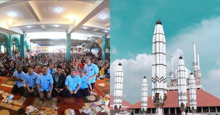 5 Masjid ini punya fasilitas keren, motor hilang diganti baru