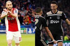 Momen 2 pemain muslim Ajax buka puasa saat bertanding lawan Tottenham