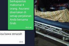 Kisah driver taksi online dapat orderan antar jenazah tengah malam