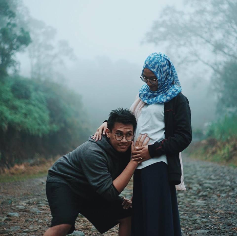 Momen mesra Zidan 'Lorong Waktu' bareng istri  © 2019 brilio.net