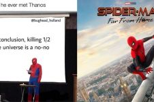 8 Meme lucu Spider-Man: Far From Home, superhero jadi gagal sangar