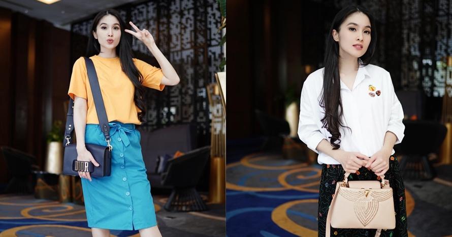 Tak harus mewah, 9 fashion item Sandra Dewi ini di bawah Rp 500 ribu