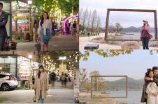 10 Potret Audi Marissa liburan di Korea, tirukan adegan drama
