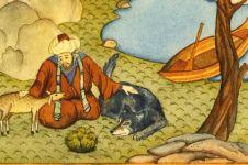 Kisah Abu Nawas ajari keledai membaca buku