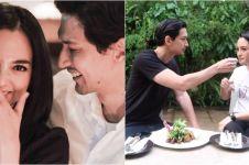 Dikabarkan dekat, ini 5 momen kebersamaan Dimas Beck & Ririn Ekawati