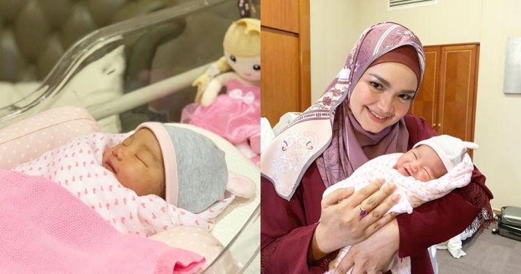 7 Potret cantiknya Azzahra, cucu Siti Nurhaliza yang baru lahir