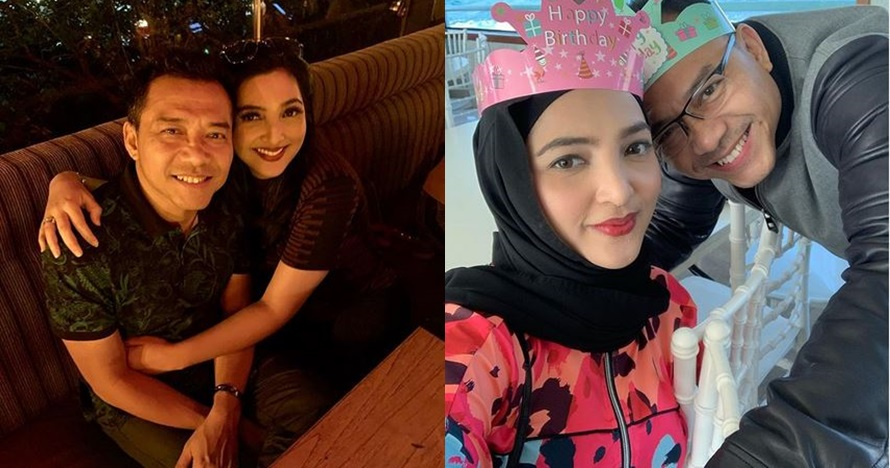 8 Momen ulang tahun pernikahan Anang dan Ashanty, penuh kebahagiaan