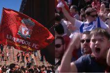 Selebrasi ini tipu suporter Liverpool, seakan City kebobolan