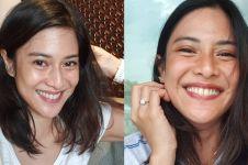 9 Cocoklogi outfit Dian Sastro vs Bus Jakarta ini bikin ngakak