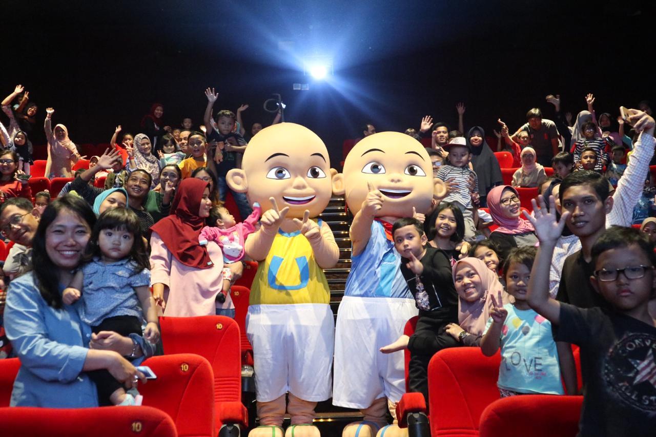 Karakter Upin Ipin kejutkan para penonton Upin Ipin The Movie