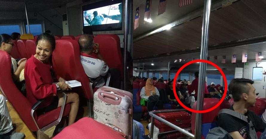 Kisah haru wanita non muslim bagikan makanan buka puasa di kapal