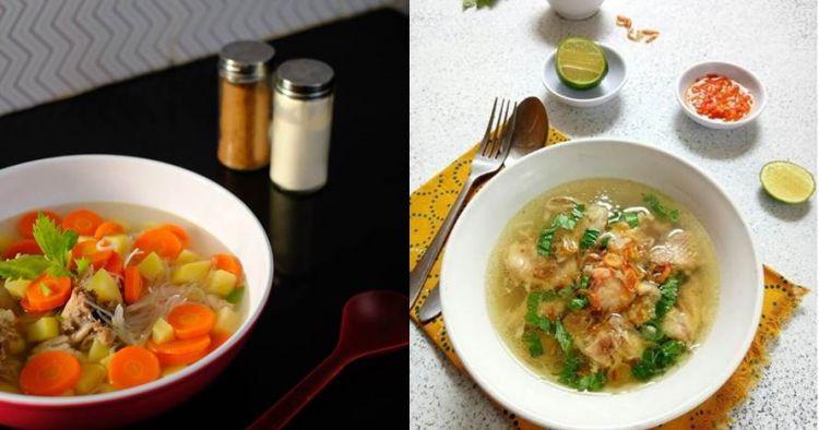 20 Resep sup ayam mudah dan praktis, lezat bikin nagih