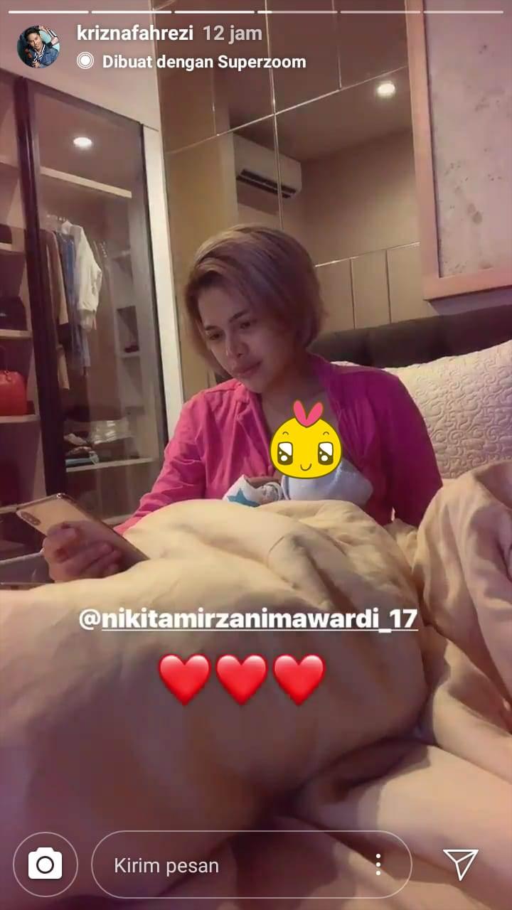 rumah Nikita Mirzani instagram