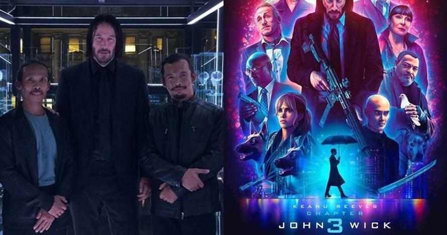 5 Potret Yayan Ruhian & Cecep Arif Rahman di Film John Wick 3