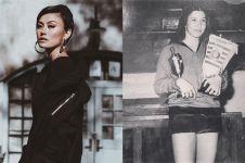 5 Foto lawas ibu Agnez Mo, mantan atlet yang curi perhatian
