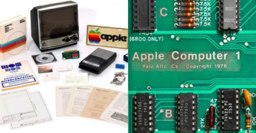Komputer Apple pertama dilelang Rp 93 miliar, istimewanya apa?