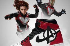 10 Desain sepatu Nike Jordan edisi Avengers: Endgame ini kece abis