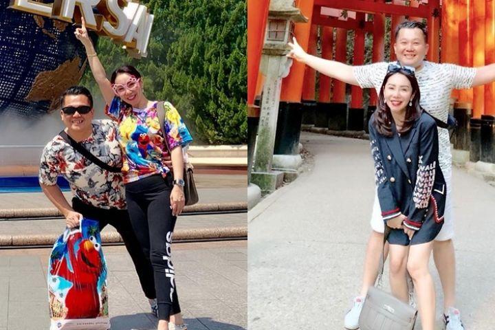 10 Momen bulan madu Femmy Permatasari & suami di Jepang, bak ABG