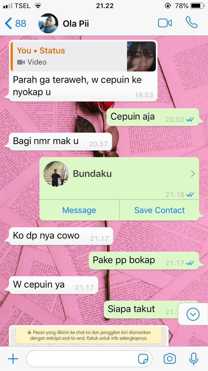 temannya nggak tarawih ngadu ke sosok tak terduga © Twitter/@ryxxfa