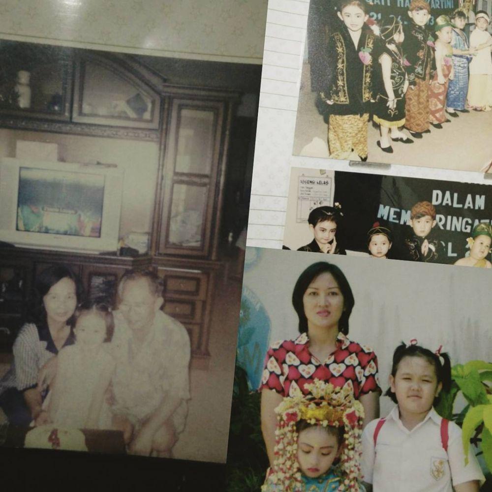 Potret masa kecil Natasha Wilona istimewa