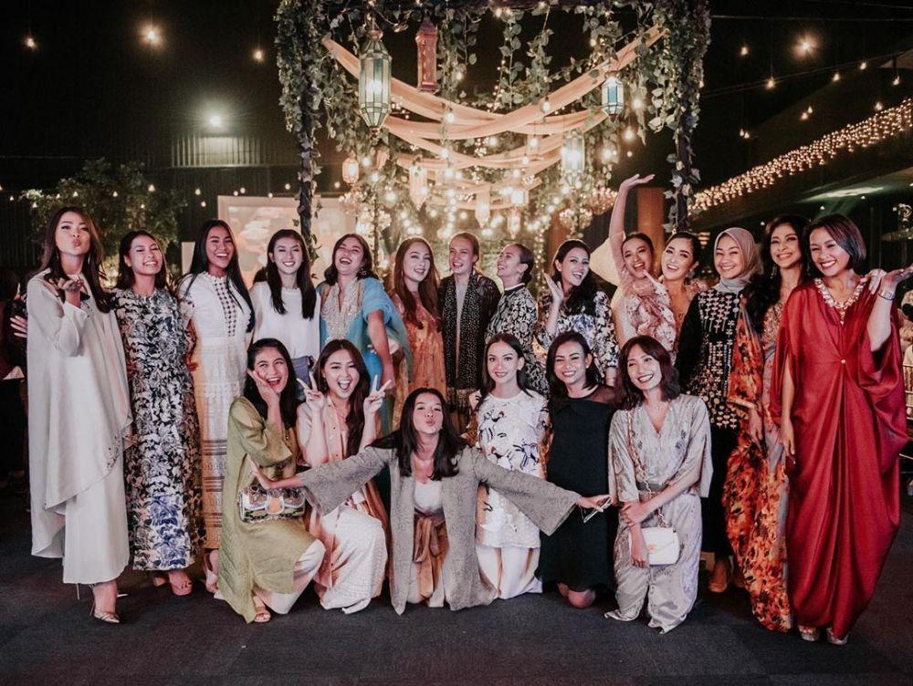 Potret alumni Puteri Indonesia buka bareng © 2019 brilio.net